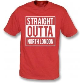 Straight Outta North London (Arsenal) T-Shirt