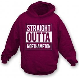 Straight Outta Northampton Kids Hooded Sweatshirt