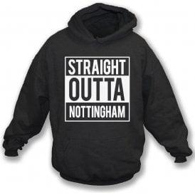 Straight Outta Nottingham (Notts County) Hooded Sweatshirt
