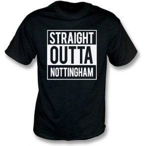 Straight Outta Nottingham (Notts County) Kids T-Shirt