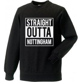 Straight Outta Nottingham (Notts County) Sweatshirt