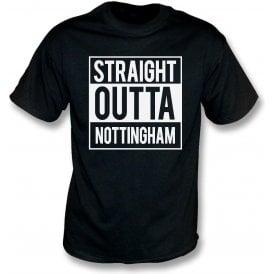 Straight Outta Nottingham (Notts County) T-Shirt