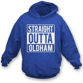 Straight Outta Oldham Kids Hooded Sweatshirt