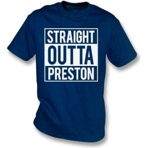 Straight Outta Preston Kids T-Shirt