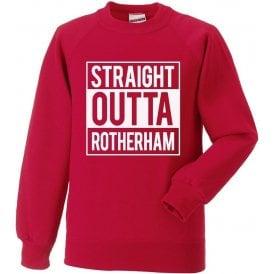 Straight Outta Rotherham Sweatshirt