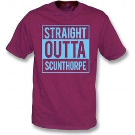 Straight Outta Scunthorpe Kids T-Shirt