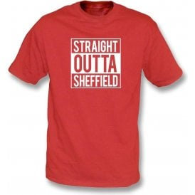 Straight Outta Sheffield (United) Kids T-Shirt