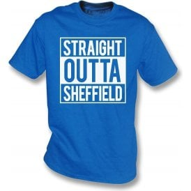 Straight Outta Sheffield (Wednesday) Kids T-Shirt
