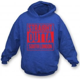 Straight Outta South London (Crystal Palace) Hooded Sweatshirt
