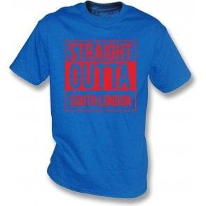 Straight Outta South London (Crystal Palace) Kids T-Shirt
