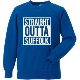 Straight Outta Suffolk (Ipswich Town) Sweatshirt