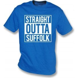 Straight Outta Suffolk (Ipswich Town) T-Shirt