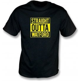Straight Outta Watford Kids T-Shirt