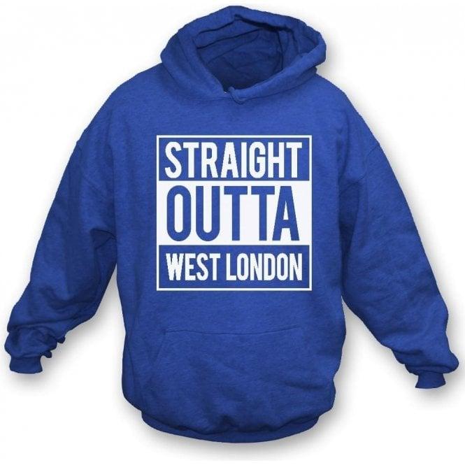 Straight Outta West London (QPR) Hooded Sweatshirt