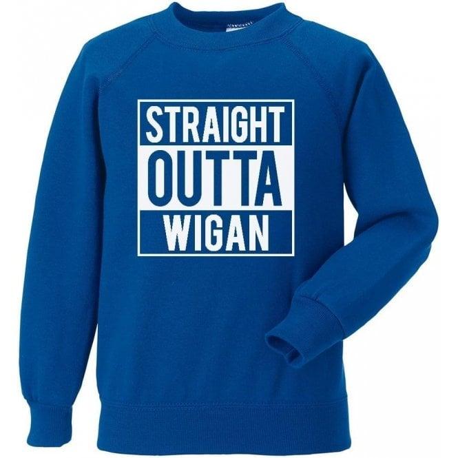 Straight Outta Wigan Sweatshirt