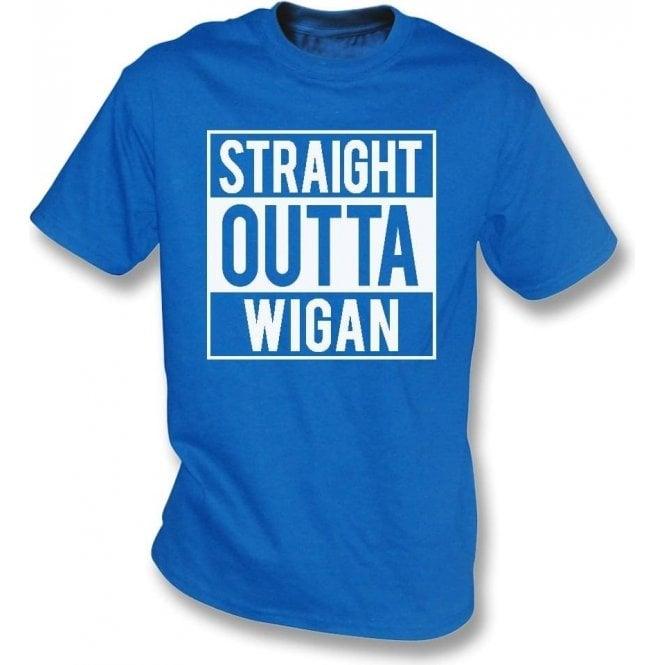 Straight Outta Wigan T-Shirt