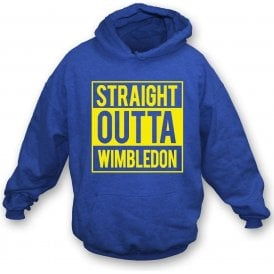 Straight Outta Wimbledon Kids Hooded Sweatshirt