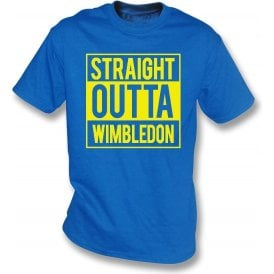 Straight Outta Wimbledon Kids T-Shirt