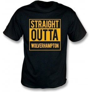 Straight Outta Wolverhampton Kids T-Shirt