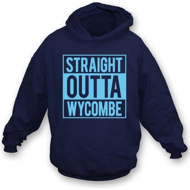 Straight Outta Wycombe Kids Hooded Sweatshirt