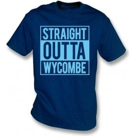 Straight Outta Wycombe Womens Slim Fit T-Shirt