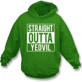Straight Outta Yeovil Kids Hooded Sweatshirt