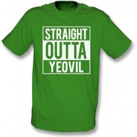 Straight Outta Yeovil Kids T-Shirt