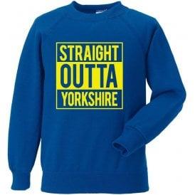 Straight Outta Yorkshire (Leeds United) Sweatshirt