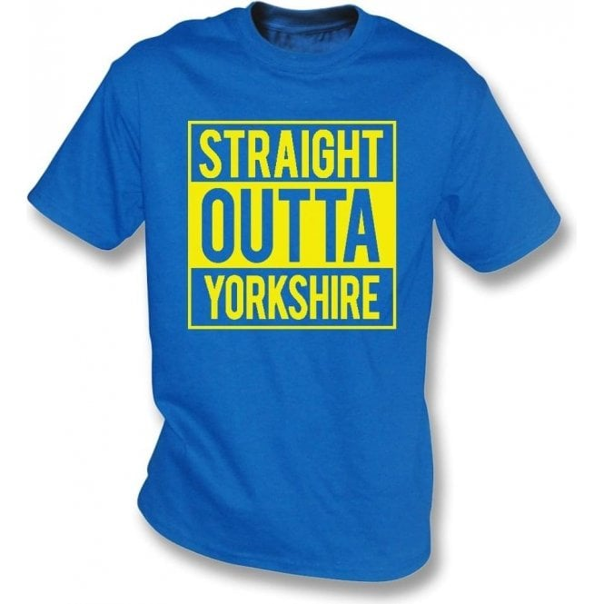 Straight Outta Yorkshire (Leeds United) T-Shirt