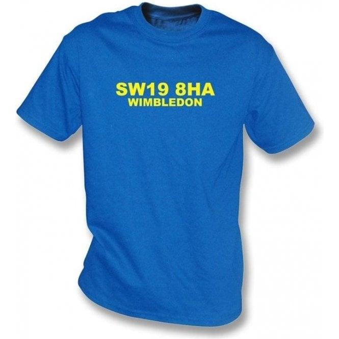 SW19 8HA AFC Wimbledon T-Shirt (AFC Wimbledon)