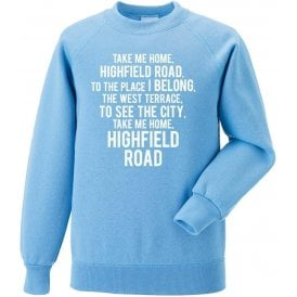 Take Me Home, Highfield Road (Coventry City) Sweatshirt