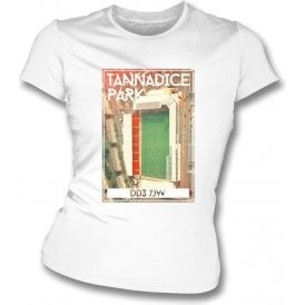 Tannadice Park DD3 7JW (Dundee United) Women's Slimfit T-Shirt