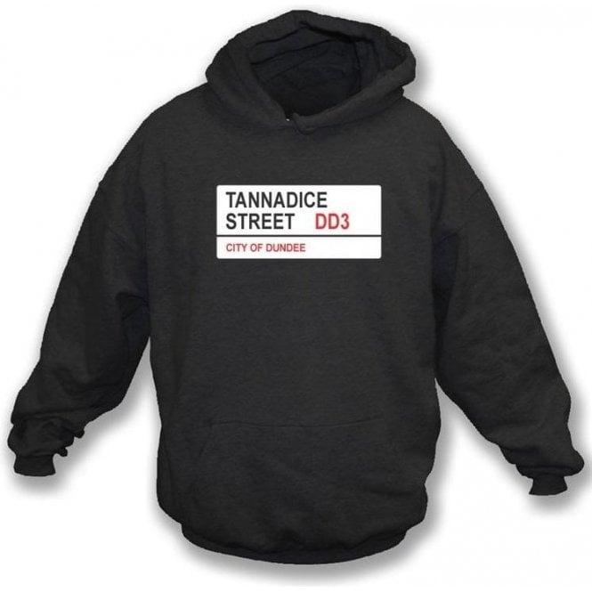 Tannadice Street DD3 Hooded Sweatshirt (Dundee United)