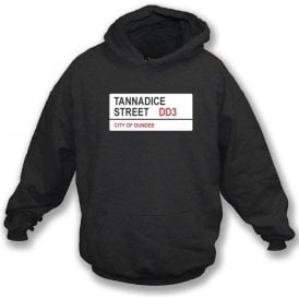 Tannadice Street DD3 Hooded Sweatshirt (Dundee United)