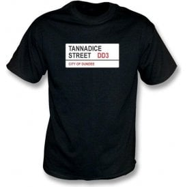 Tannadice Street DD3 T-Shirt (Dundee United)