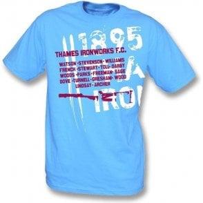 Thames Ironworks FC 1895 t-shirt