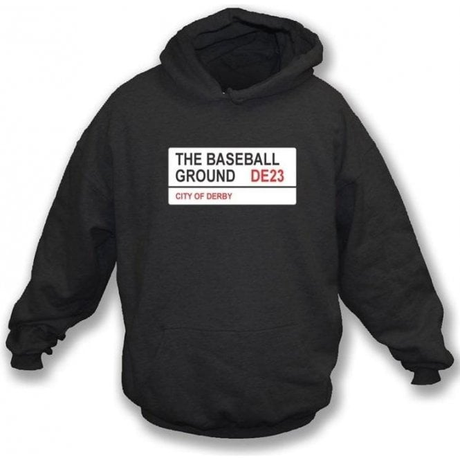 The Baseball Ground DE23 (Derby County) Hooded Sweatshirt
