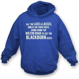 The Blackburn Aces Kids Hooded Sweatshirt