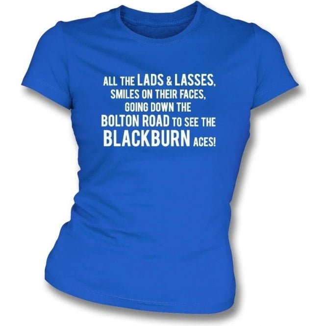 The Blackburn Aces Womens Slim Fit T-Shirt