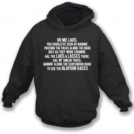 The Blaydon Races (Newcastle United) Hooded Sweatshirt