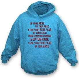 The Blue Flag Hooded Sweatshirt (West Ham)