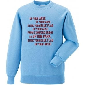 The Blue Flag Sweatshirt (West Ham)