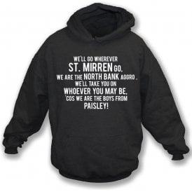 The Boys From Paisley (St. Mirren) Kids Hooded Sweatshirt