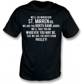 The Boys From Paisley (St. Mirren) T-Shirt