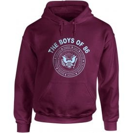 The Boys Of 86 (Ramones Style) Hooded Sweatshirt