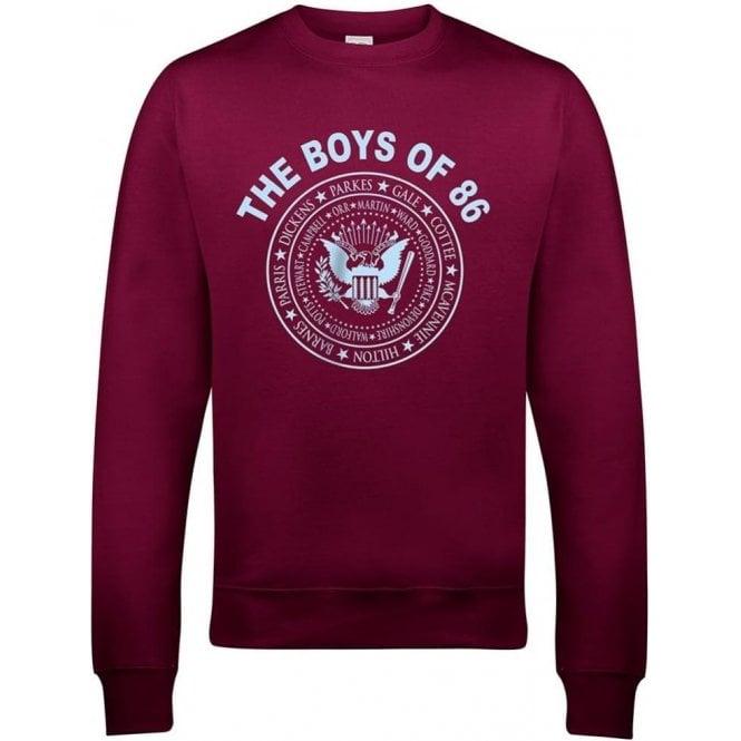 The Boys Of 86 (Ramones Style) Sweatshirt