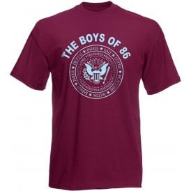 The Boys Of 86 (Ramones Style) T-Shirt