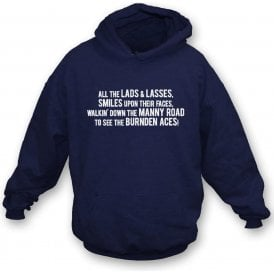 The Burnden Aces (Bolton Wanderers) Hooded Sweatshirt
