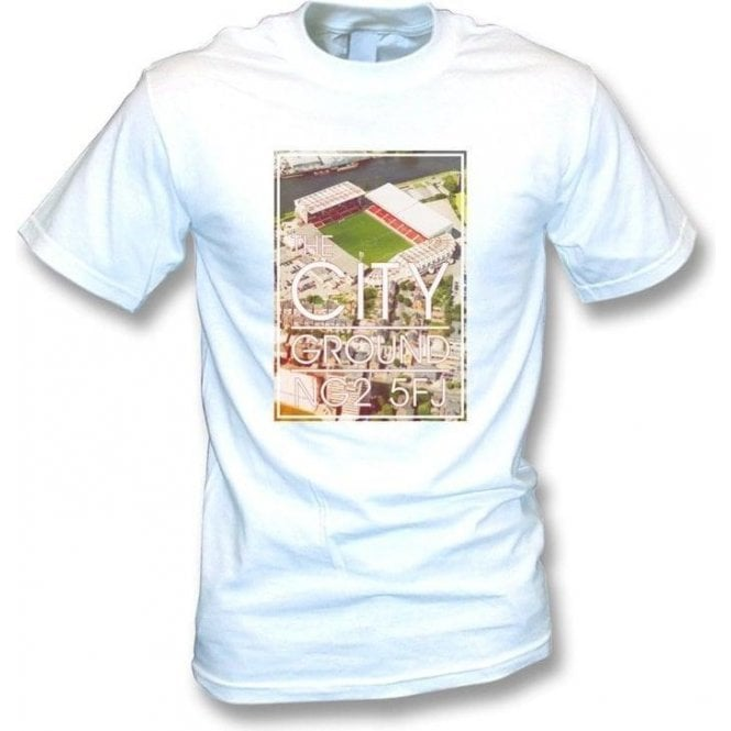 The City Ground NG2 5FJ (Nottingham Forest) T-shirt