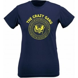 The Crazy Gang (Wimbledon FC) Womens Slim Fit T-Shirt